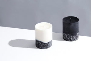 Alchemy Produx Terrazzo Pillar Unscented Candle