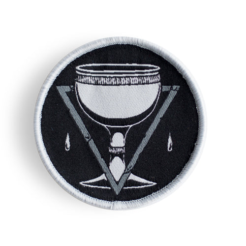 Tarot Suit of Cups - Woven Patch