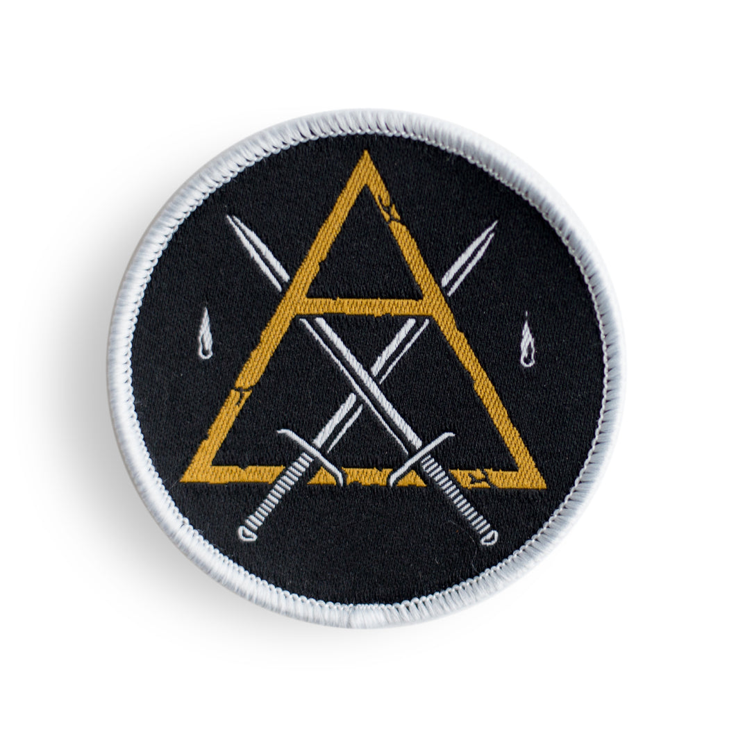 Tarot Suit of Swords - Woven Patch