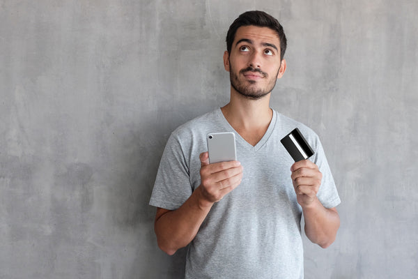 Deciding with a phone and credit card