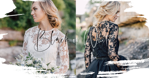 Black Wedding Dresses vs White Ones? Symbolism, tradition, and pride