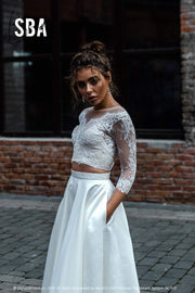 Additional Pockets - Add Pockets to a Bridal Skirt - StylishBrideAccs