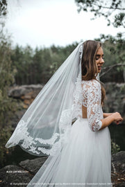 Alice Lux Veil | Boho Veil 2020 SBA collection - StylishBrideAccs