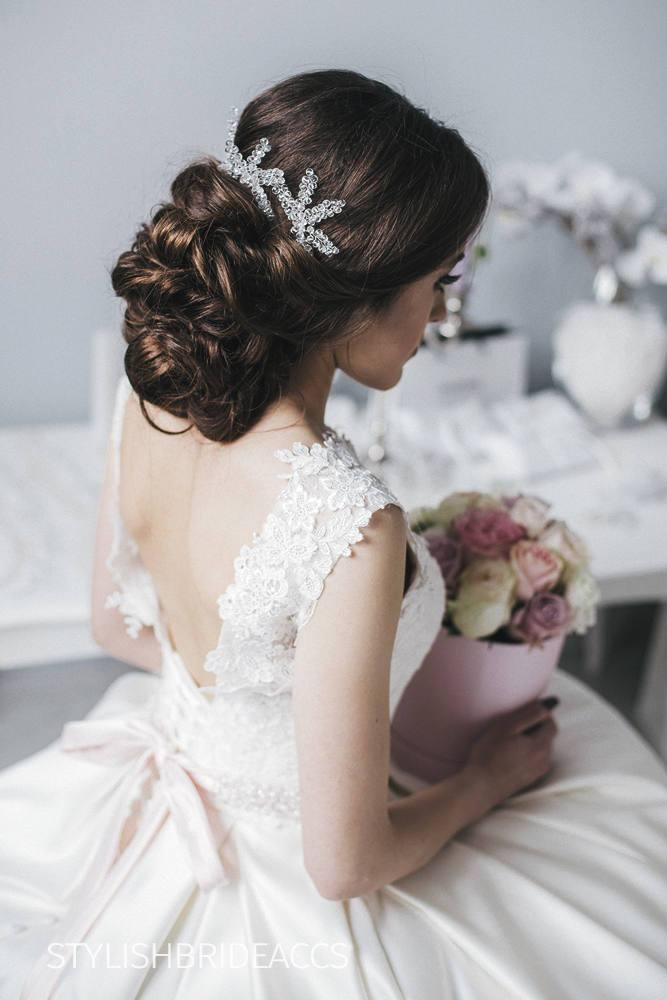 Arianna | Bridesmaid and Bridal Hair Pins - StylishBrideAccs