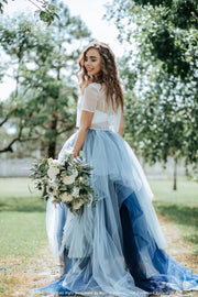 Disney Indigo Ombre Wedding Dress - StylishBrideAccs