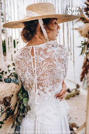 Enchanted Forest top | Engagement lace top plus size - StylishBrideAccs