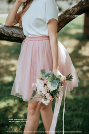 Glory | Prom Top & Fay Dark Blush Skirt