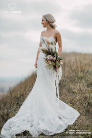 Amore | Wedding Dress with Lace Overskirt