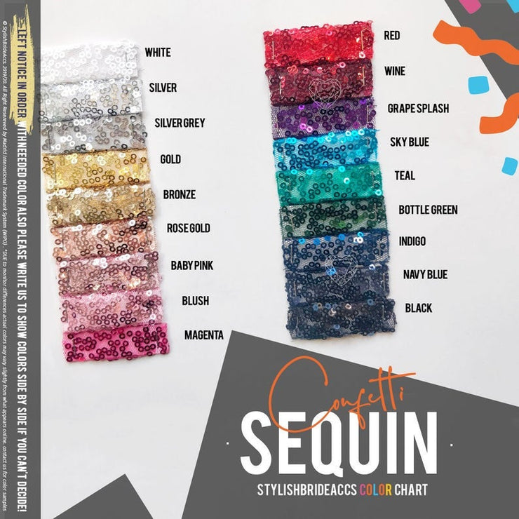 Sequin Fabric by the Yard