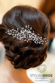 Madelyn | Bridal Pearl Hairpiece - StylishBrideAccs