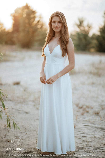 Mermaid | Silk Cami Bridesmaids Dress - StylishBrideAccs