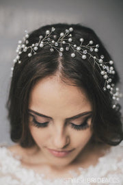 Ruby | Wedding Lush hair vine 0.4-1.5 m - StylishBrideAccs