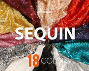 Sequin Fabric by the Yard - StylishBrideAccs