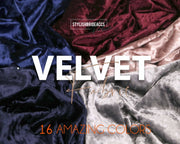 Soft Velvet Fabric for Tops, Dresses, Skirts - StylishBrideAccs