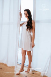 Tenderness | Silk Lace Bridal Nightgown - StylishBrideAccs