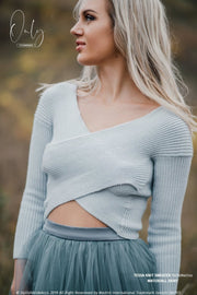 Tessa Wool Hand Knitted Simple Bohemian Sweater - StylishBrideAccs