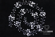 Wedding Hair Vine Super Long 0.45-1.5 meters, Wedding Pearl Hair Vine, Pearl Hair Accessories, Pearl Vine, Bridal Hairpiece - StylishBrideAccs