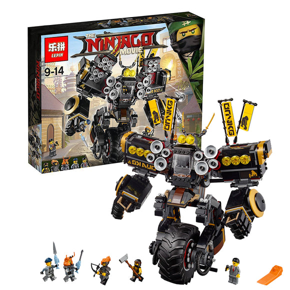 LEPIN 06069 Quake Mech | Movies