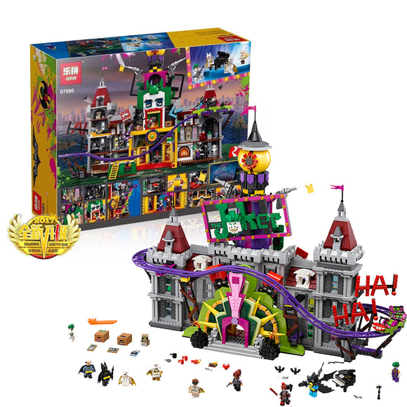 LEPIN 07090 The Joker Manor | Movies