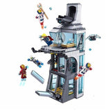 DECOOL 7114 Attack on Avengers Tower | Marvel Super Heroes |  -