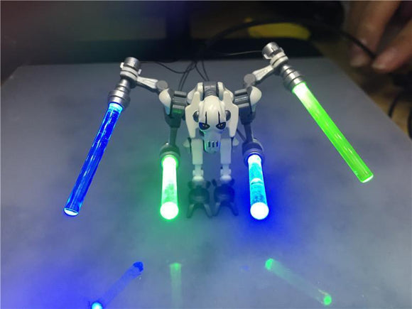 LBP1016a General Grievous Glowing Light Saber | Miscellaneous |  -