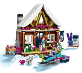 LEPIN 01040 Snow Resort Chalet | Friends |  -