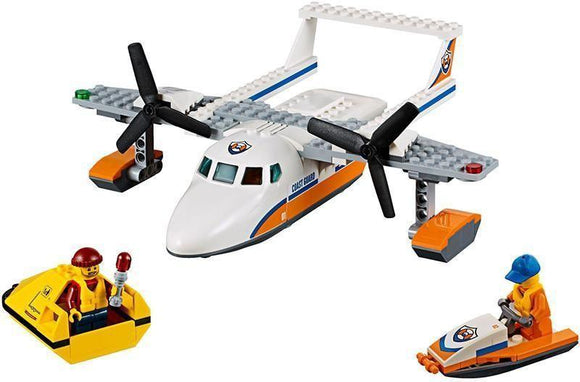LEPIN 02066 Sea Rescue Plane | City |  -