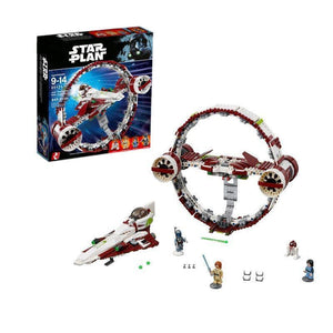LEPIN 05121 Jedi Starfighter With Hyperdrive | Star Wars |  -