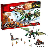 LEPIN 06036 The Green NRG Dragon | NINJAGO |  -