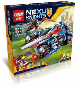 LEPIN 14012 Clay's Rumble Blade | NEXO Knights |  -