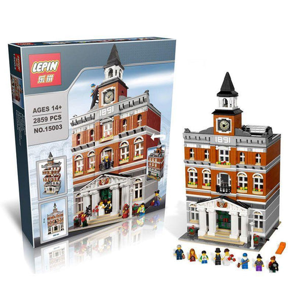 LEPIN 15003 The Town Hall | Creator |  -