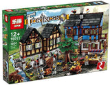LEPIN 16011 Medieval Market Village | Movies |  -
