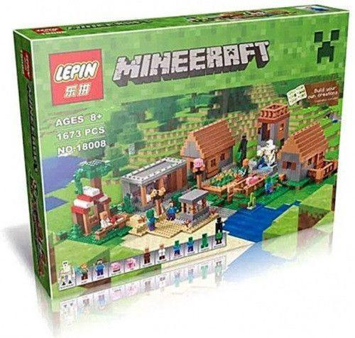 LEPIN 18008 The Deluxed Village | MineCraft |  -