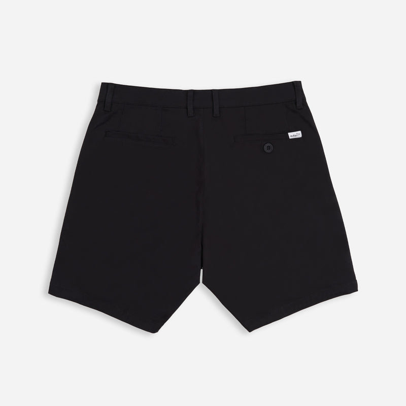 Solid Black All Day Shorts 3.0 (Stretch)