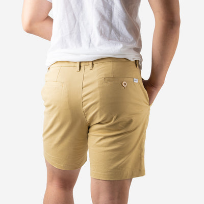 [Pre-order] Khaki Brown All Day Shorts 2.0 (Stretch)