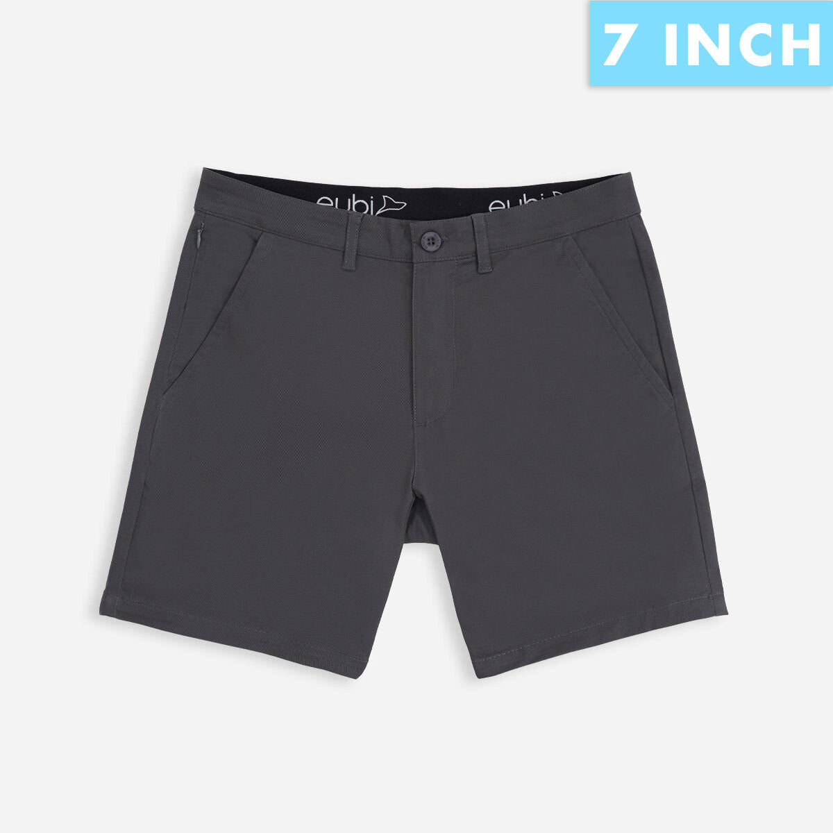 Charcoal Grey All Day Shorts 3.0 (Stretch)