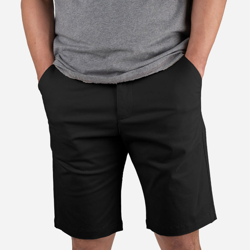 "11"" Black + Sandy Brown All Day Chino Shorts Duo Pack"