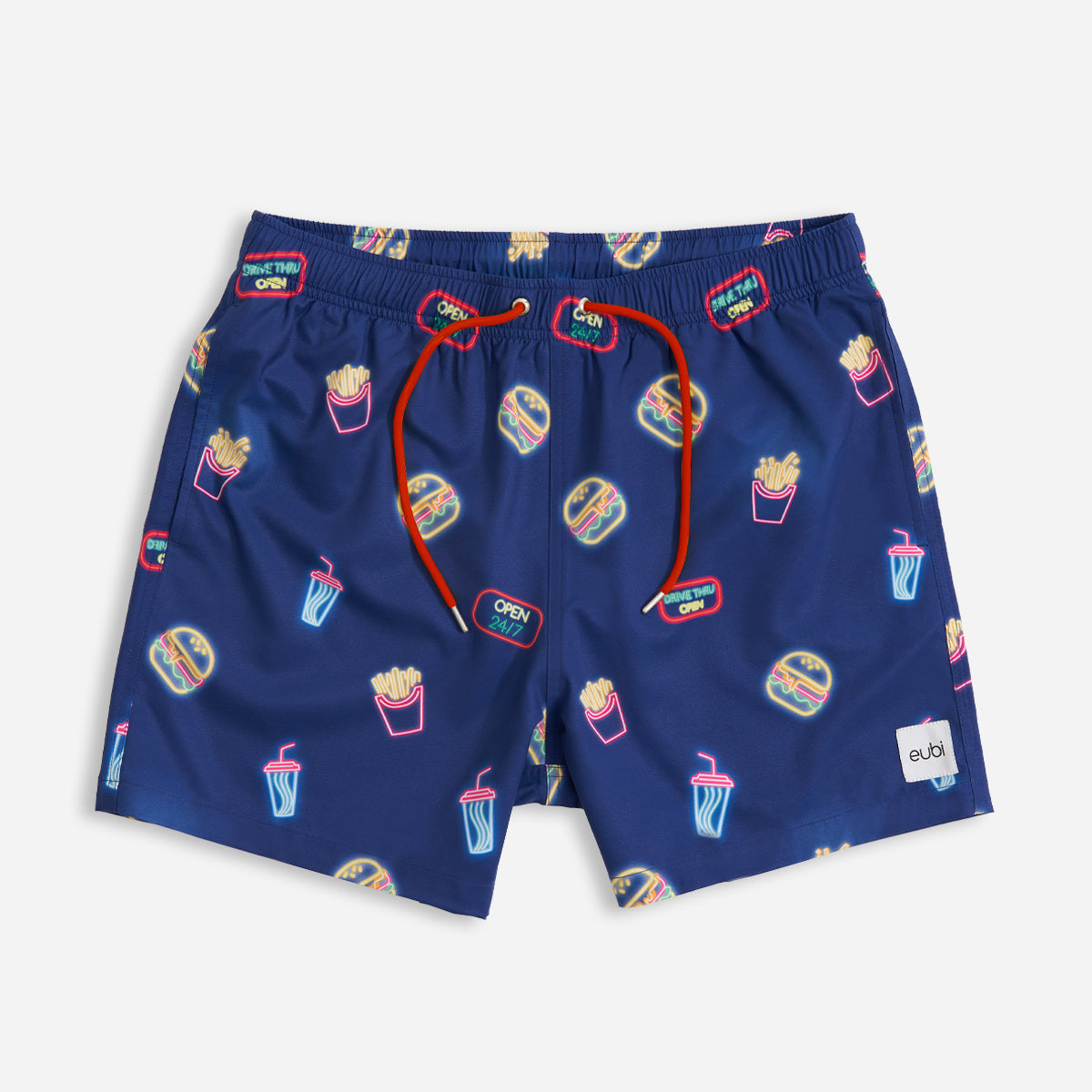Burgers & Fries Signature Flex Swimshorts