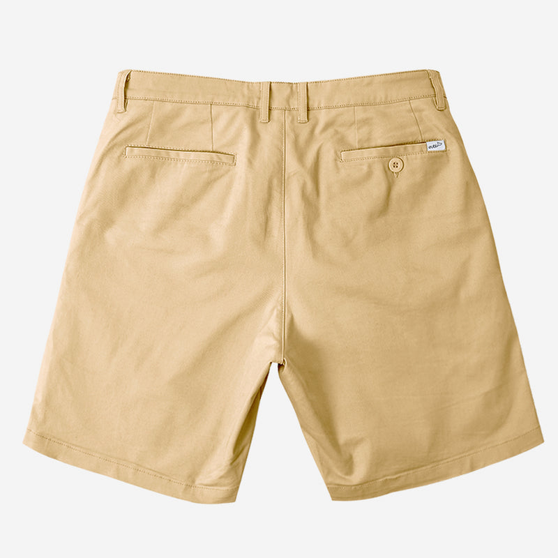 "9"" Khaki Brown All Day Shorts 2.0 (Stretch)"