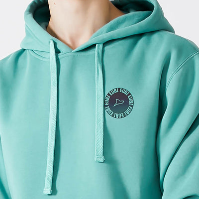Turquoise Softism Hoodie