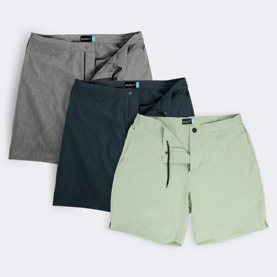 [SALE] Heather Grey + Deep Sea + Mint Green Triple Pack