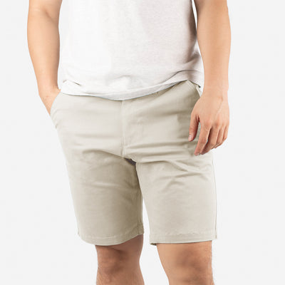 "9"" Navy Blue + Sandy Brown All Day Shorts 2.0 (Stretch) Duo Pack"