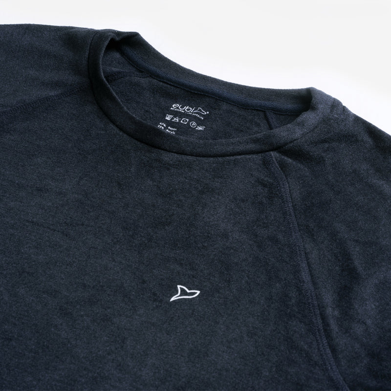 Navy Blue SoftAF ThermoTech Sleep Shirt