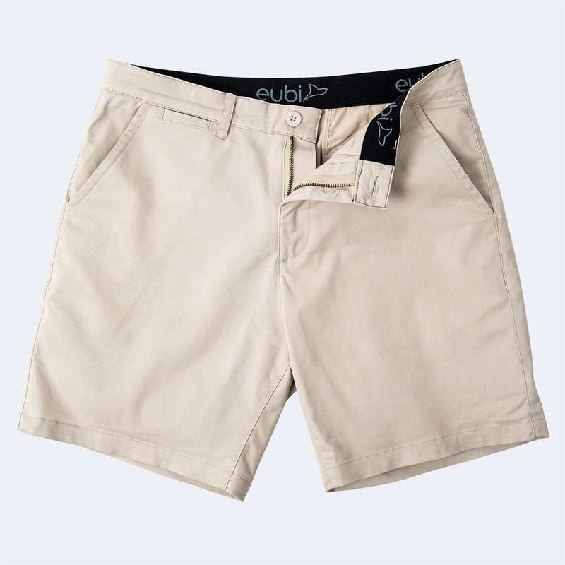 [Pre-order] Sandy Brown All Day Shorts 2.0 (Stretch)
