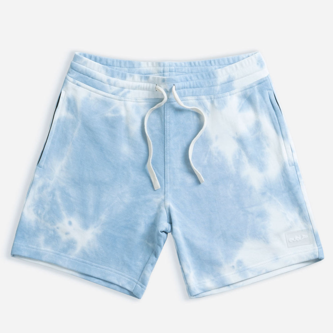 "[LIMITED EDITION] 7"" Blue Tie Dye Lounge Shorts"