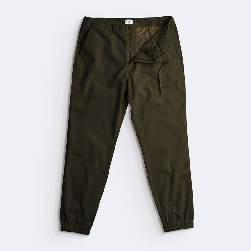 "28"" Flex All Day Joggers - Olive Green"
