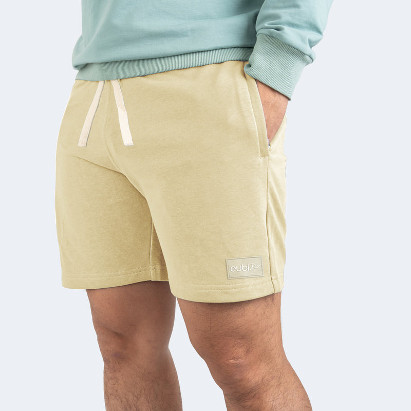 Khaki Eubi Lounge Shorts