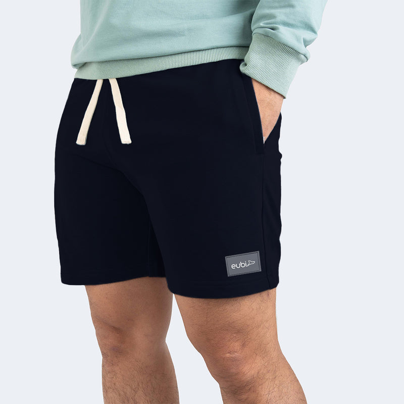Navy Blue Eubi Lounge Shorts