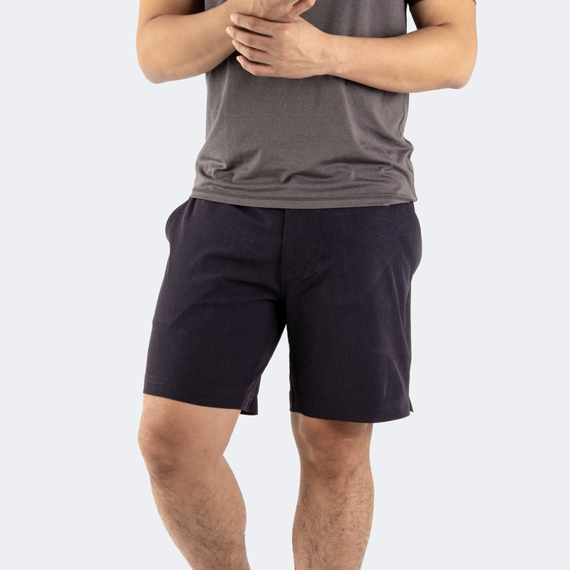 Navy Blue Hybrid Shorts