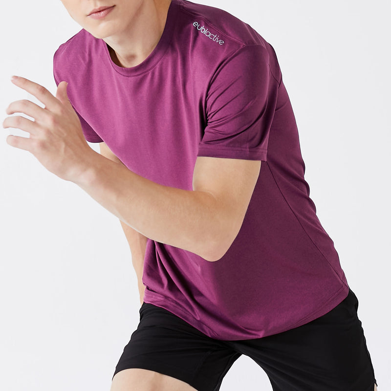 [SALE] Featherlite Active Tee - Burgundy